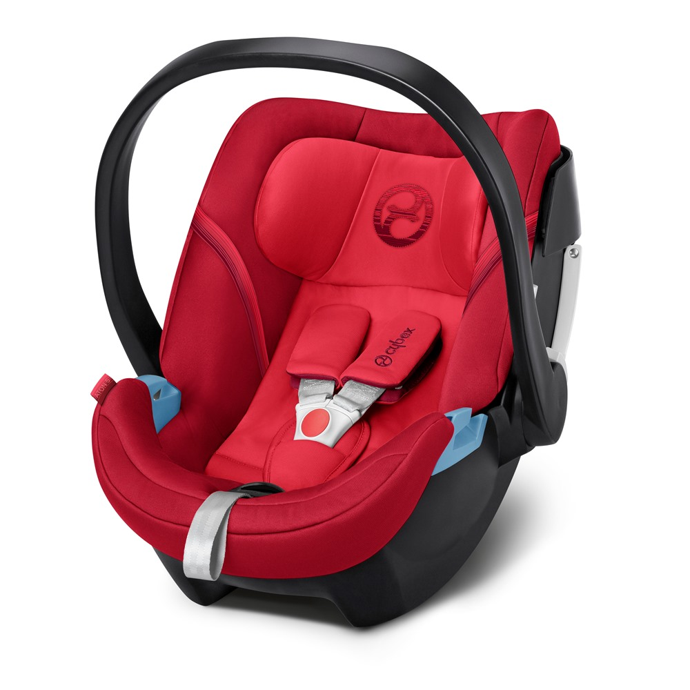 Cybex Aton 5 2018 Rebel red