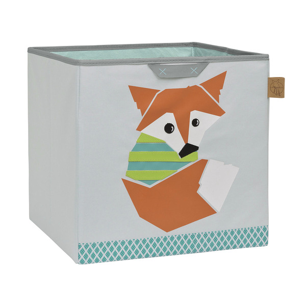 Koš na hračky Toy Cube Little tree fox