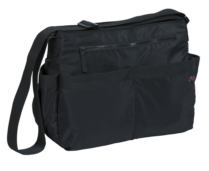 Lässig Marv Shoulder bag Black