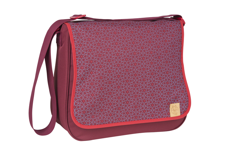 Lässig Basic Messenger Bag Mosaic red