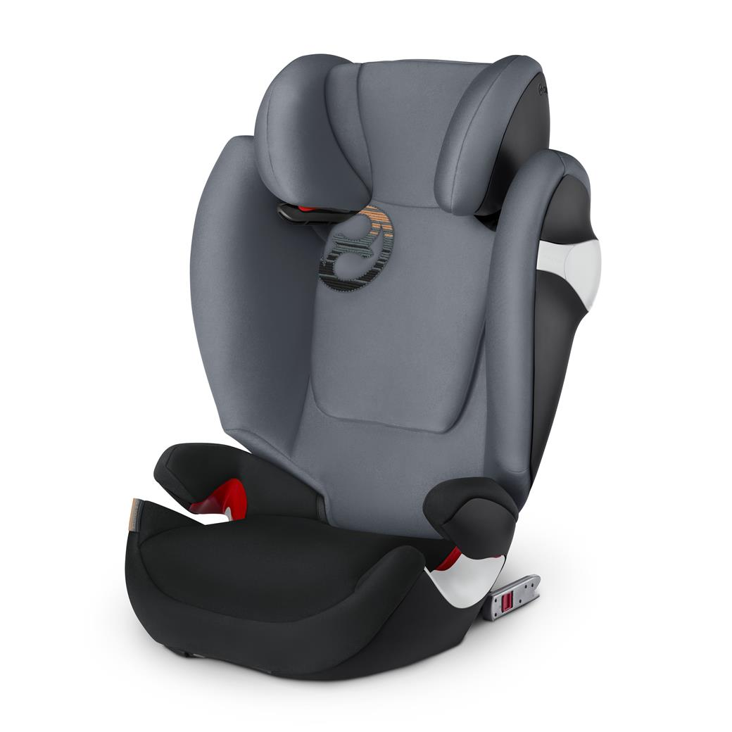 Cybex Solution M-fix 2018 Pepper black