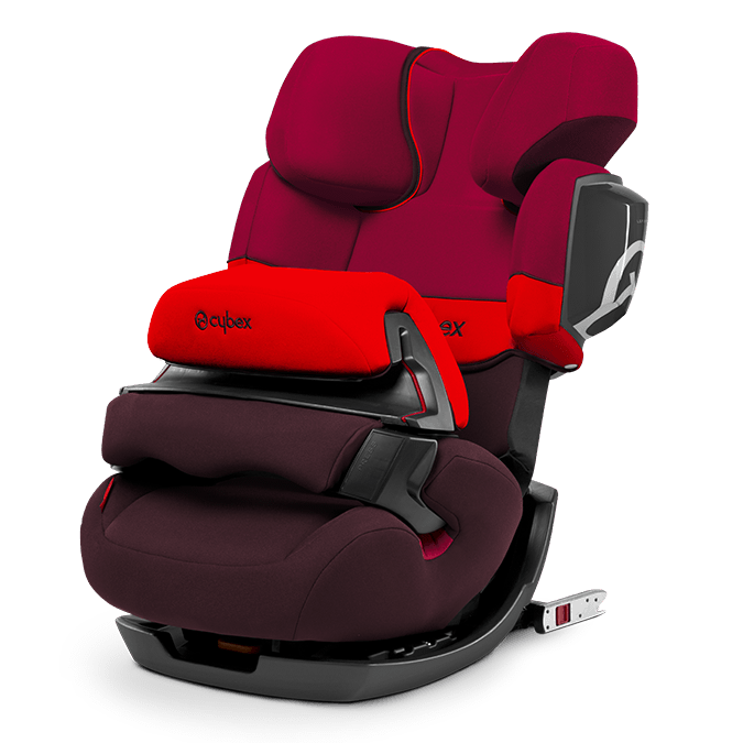 Cybex Pallas 2-fix 2017 Rumba red