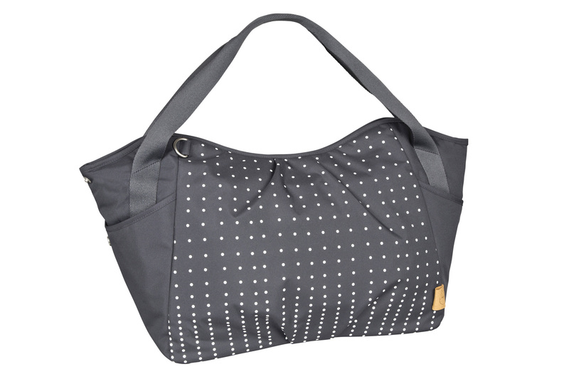 Lässig Casual Twin Bag Dotted linesEbony