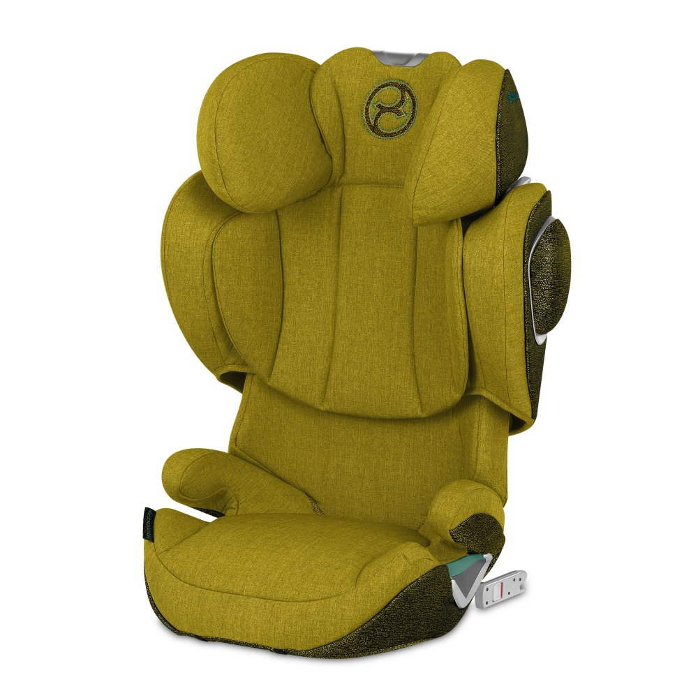 Cybex Solution Z-fix Plus Mustard yellow