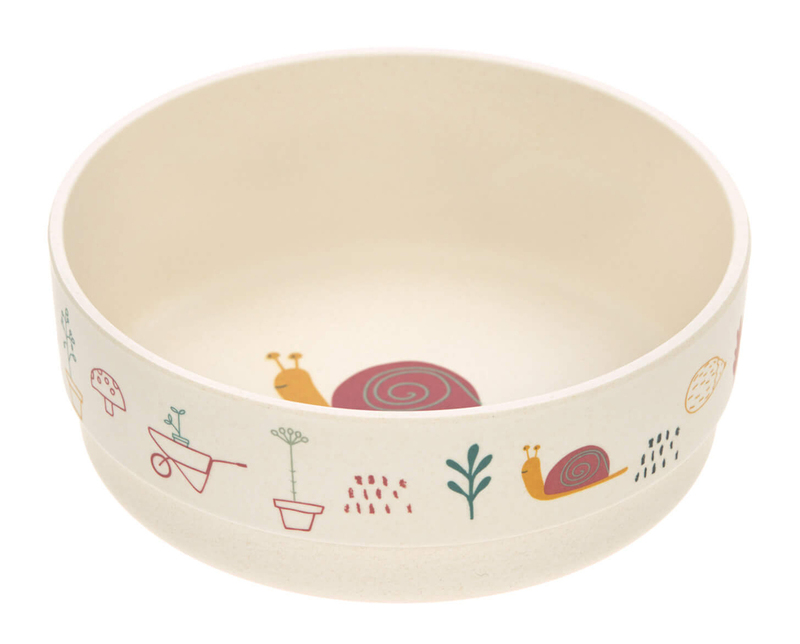 Miska Bowl Bamboo garden girls
