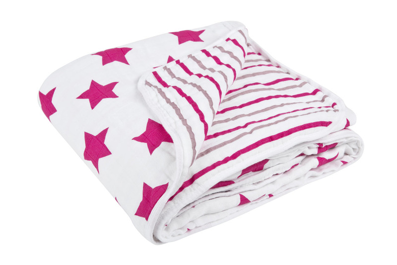 Deka Lässig Cozy Blanket Stars girls