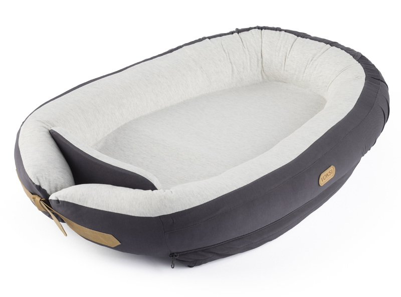 Hnízdo Voksi Baby nest Dark grey