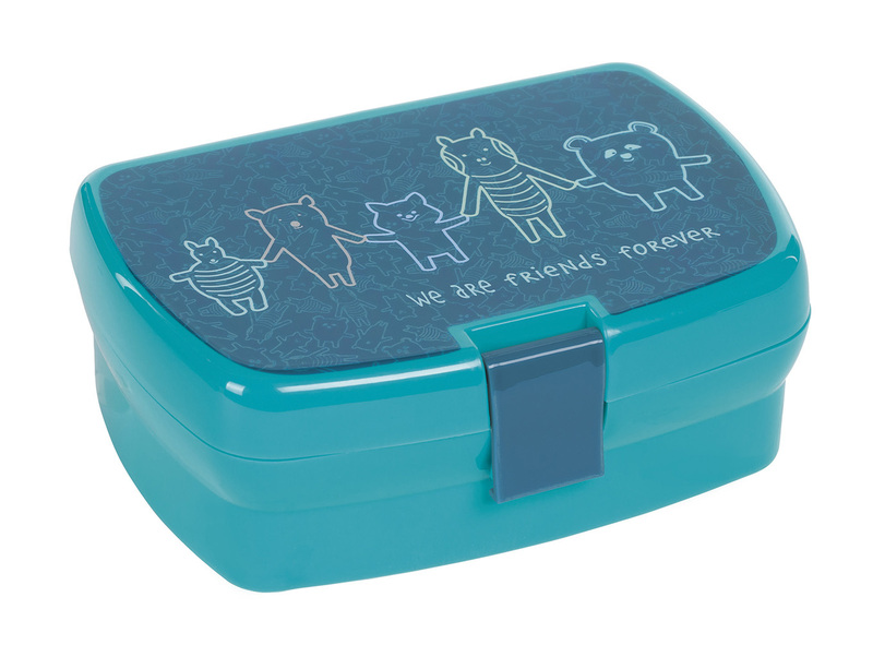 Lunchbox Lassig Friends blue