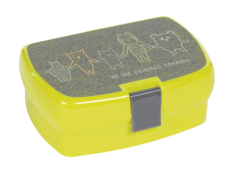 Lunchbox Lassig Friends grey