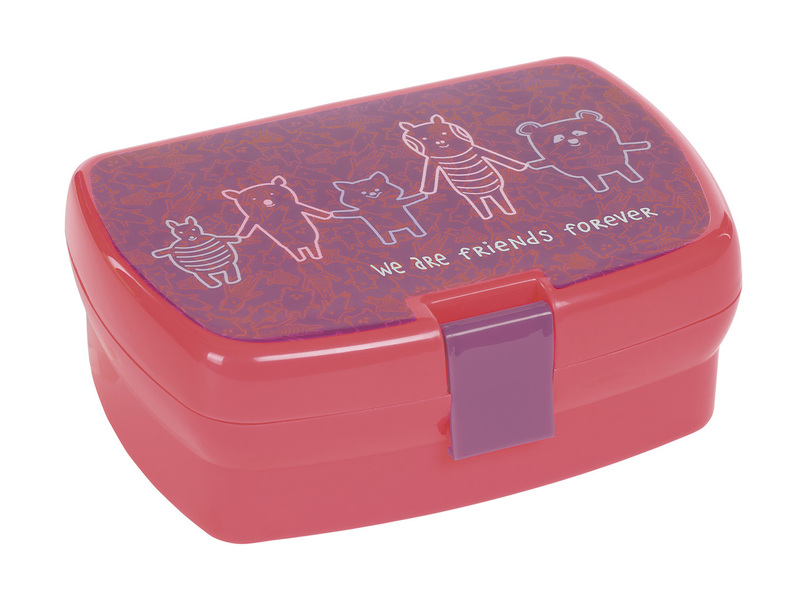 Lunchbox Lassig Friends pink