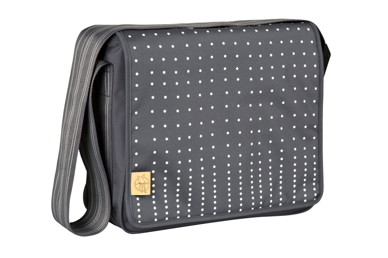 Lässig C. Messenger Bag Dotted ebony