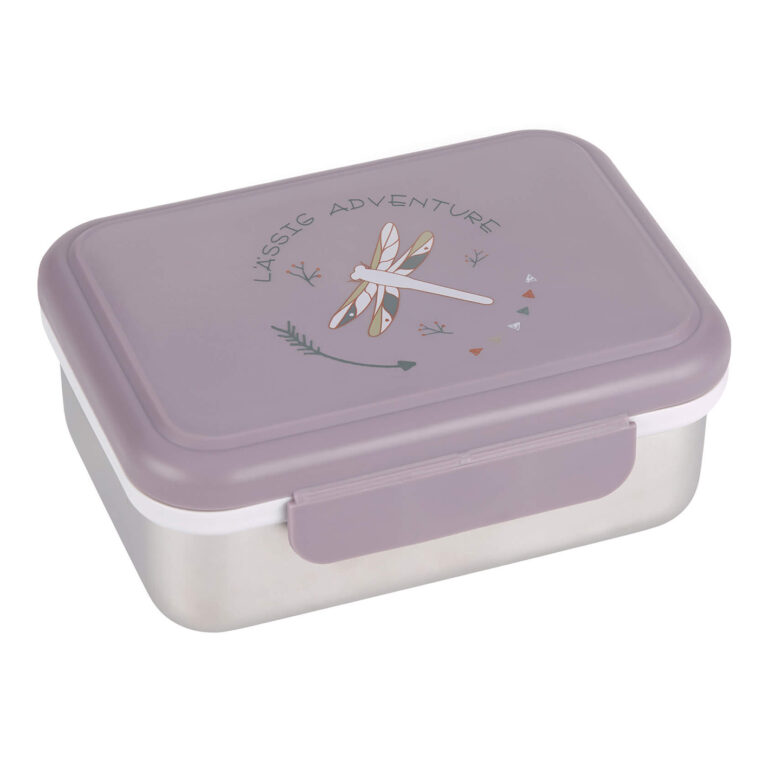 Lunchbox Lassig Stainles Steel dragonfly