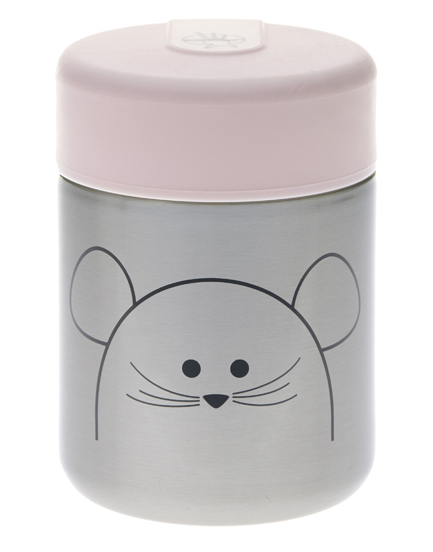Termoska Lassig Food Jar Chums mouse