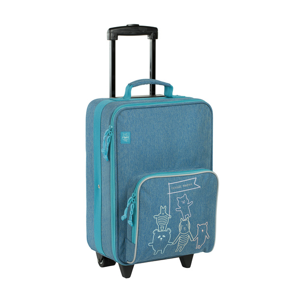 Kufr Lässig Trolley Friends blue