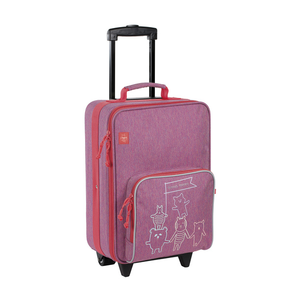 Kufr Lässig Trolley Friends pink