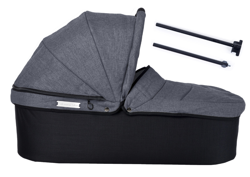 Korba TFK Twin Carrycot Premium grey