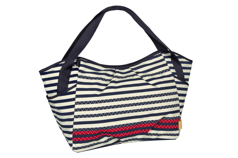 Lässig Casual Twin Bag Striped navy