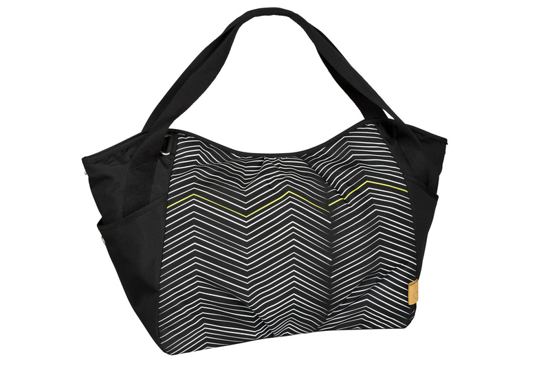 Lässig Casual Twin Bag Zig. black white