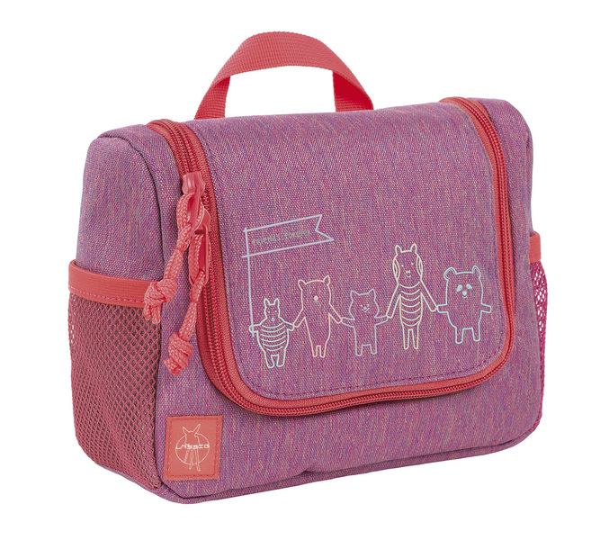 Washbag Lässig Mini Friends pink